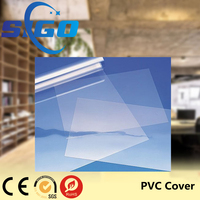 SIGO Custom Wholesale A3 Clear Transparent Plastic PVC Book Covers
