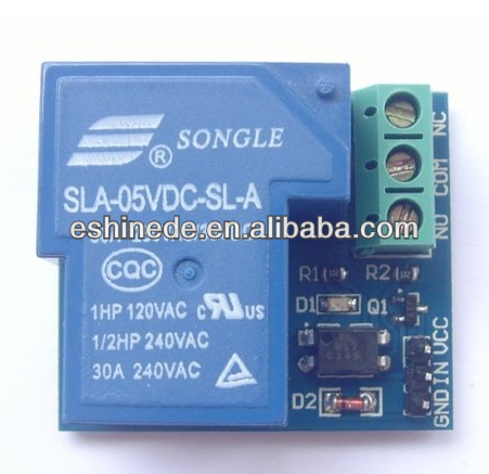 DC optocoupler isolated relay module EL817 relay board Opto relay 5V 30A for I/O