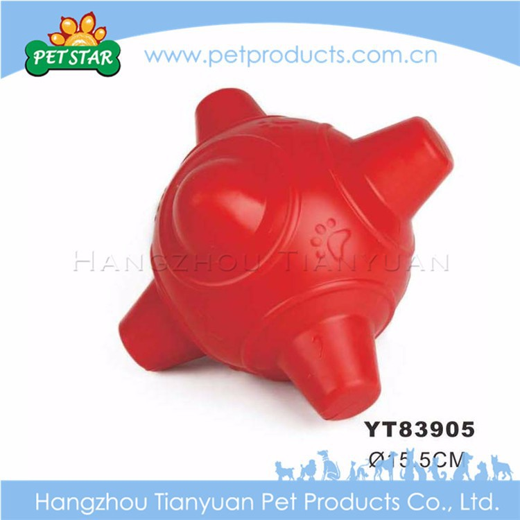 Promotional cheap high quality chew tpr dog toy balls
