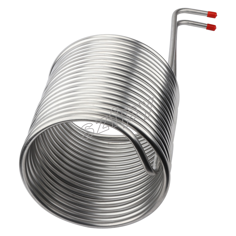 Stainless Steel Coil Cooler Wort Immersion Chiller Beer Brewing Equipment, Homebrewing