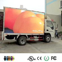 Ph6 Outdoor Mobile LED Screen Trailer With Mobile Display Lifting Systems,Motorcycle Advertising Trailer