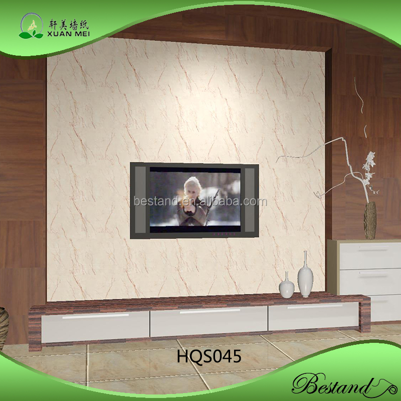Model HQS045 XuanMei Marbling Wallpaper Wall paper wall decoration