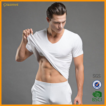 Strong men t-shirt good quality with shorts blank t shirt custom high quality produce in Guangzhou factory