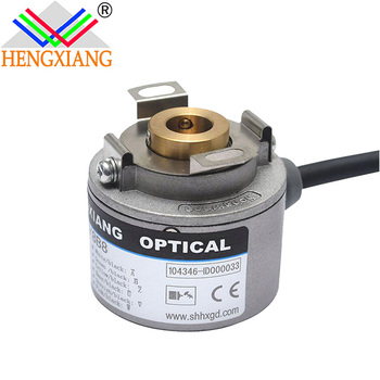 China encoder factory K35 Hollow Shaft 37mm Displacement Encoder Manufacturer UVW Signal ABZA-B-Z-UU-VV-WW- phase