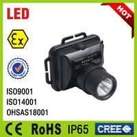 rechargeable portable emergency light waterproof explosion proof led head lamp