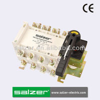 Salzer Brand SPL-160-4P AC Manual Change Over Switch