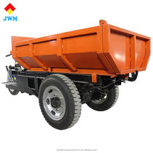 big loading capacity size 1000W small electric 3 wheel dump truck with open cabin
