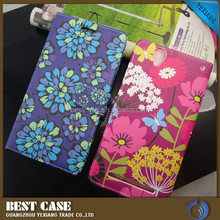 Magnetic Flower Pattern for Sony Xperia T2 Ultra Flip Cover, for sony xperia t2 ultra leather flip case