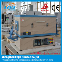 3 heat zone annealing diffusing and sintering Horizontal quartz tube electric furnace