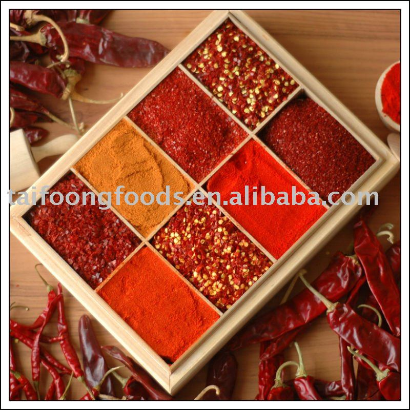china dried red chilli vendor supply best quality red hot dried chilli peppers chili POWDER