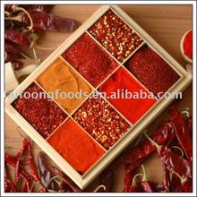 china exported best quality red hot dried chilli peppers chili POWDER