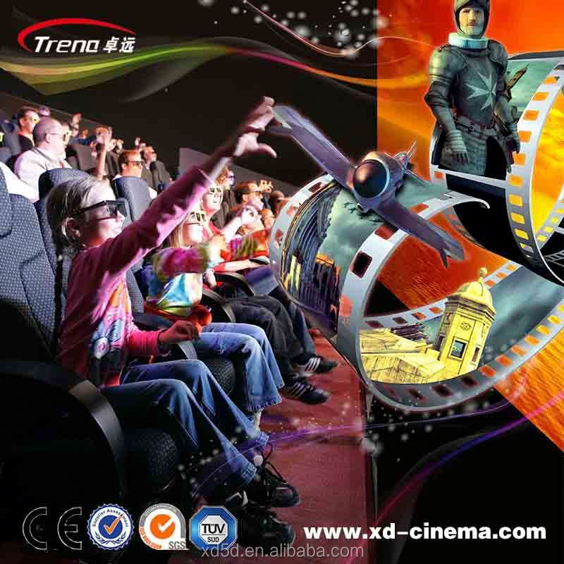 5D Cinema/7D Movie with High-class Hydraulic Motion Seats 5d cinema 5d theater