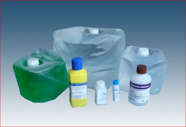 Diluent, hemolytic agent and cleaning solution for CBC-6000.PNG