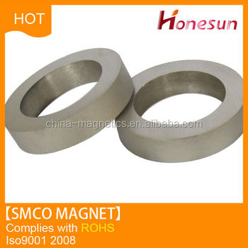 super strong ring smco magnet alibaba china
