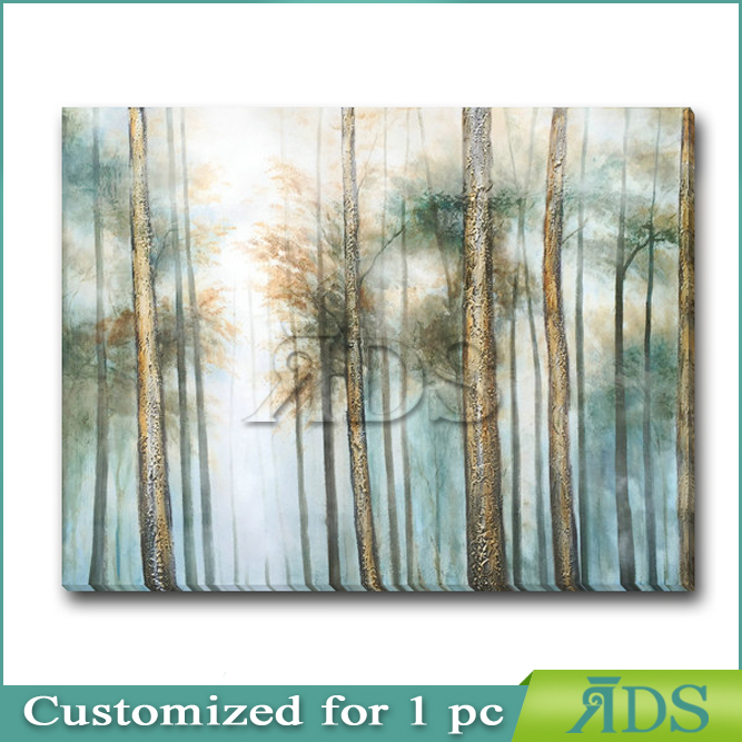 Handmade Landscape Oil Painting36X48 Wall Painting