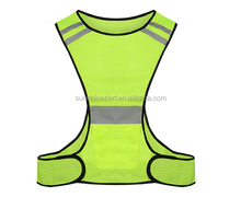 Customized sports mesh vests Reflex safety Mesh Vest mesh hi-vis vest