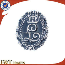 fancy designer emblems custom chrome badge emblem