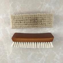 Wooden Handle Goat Hair Shoe Cleaning <strong>Brush</strong>