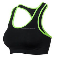 Seamless sport vest stretch workout design ladies sexy yoga tank tube top