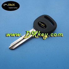 "Best price transponder key for chevrolet aveo transponder key one sdie with logo GM 46 locked chip with ""circle +"" on the blade"