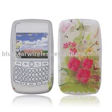 tpu mobile phone case with different print designs cover for Blackberry curve 8900