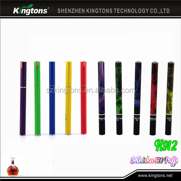 Alibaba Express Free sample e shisha pen, China 500 puffs portable e hookah shisha pen