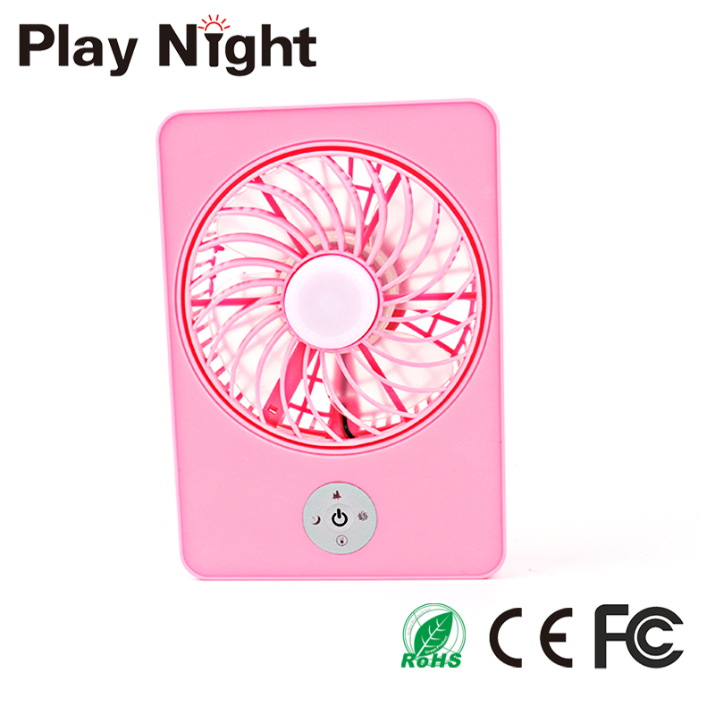 Hot Sale Mini Rechargeable 3 Different Super Big Wind USB Charge Handheld Fan