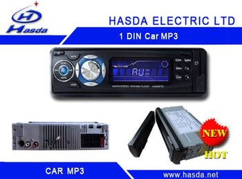 Single din Indash Car Radio Mp3 player with SD,USB, detachable panel