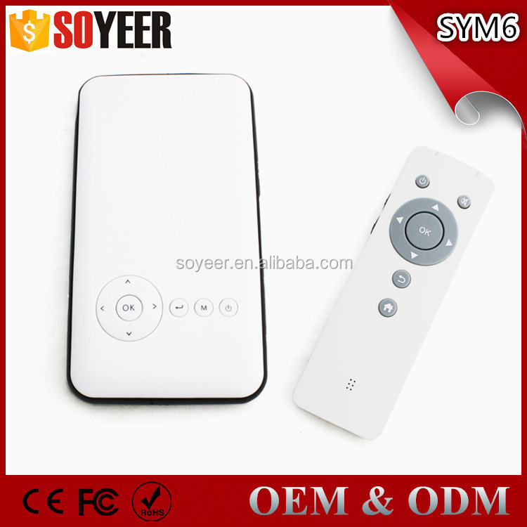 Soyeer Sym6 Hd Mini Led Projector 3D 1080P Tvs Tvs