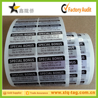 Customized Private Label For Electronics Product, Electronics product labels