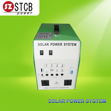 home solar system products 300w inverter with 50w solar panle and 12v 24ah battery