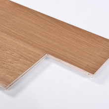 Real wood veneer HDF core beech wood engineered wood flooring