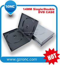 PP Material dvd case Type 14MM CD DVD case