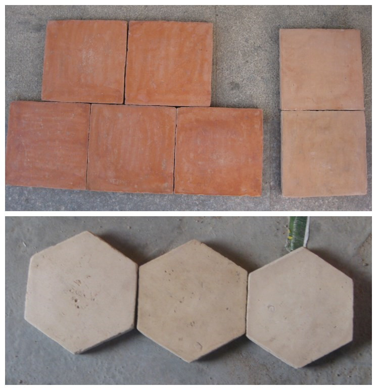 Hexagon Terracotta Tiles