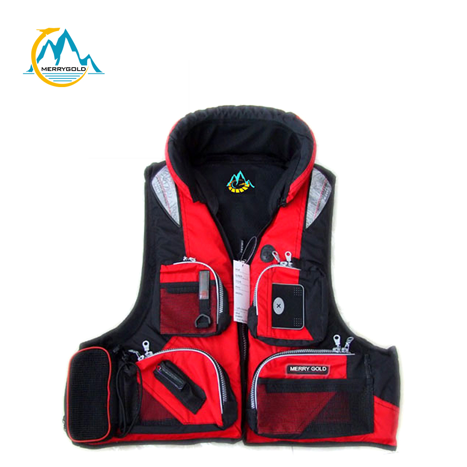 Floating Fly Fishing Vest for Safety