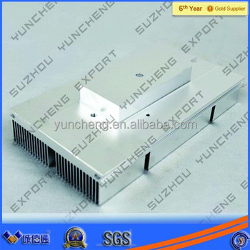 Aluminum Alloy 6063 engineering heatsink