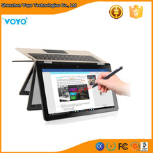 Win10 netbook with 3g sim card slot 360 full angel turning flexible