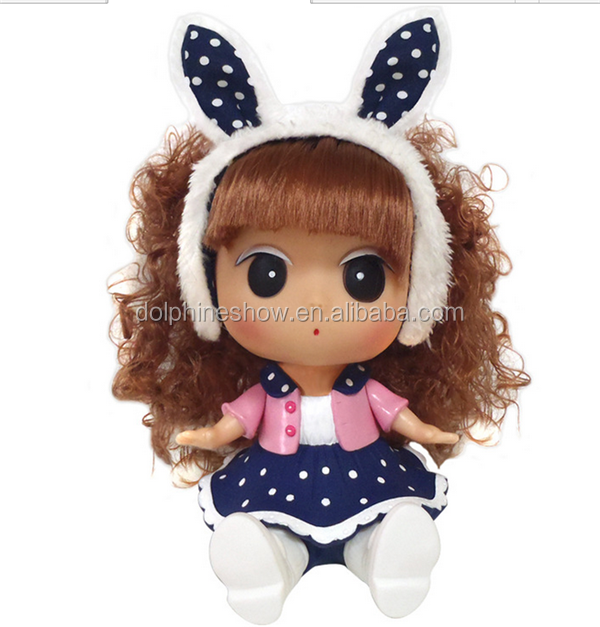 ICTI certificated factory custom beatiful silicone vinyl doll girl