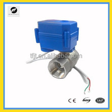 3/4'' mini DC24V 2-way stainless steel electric shut-off valve for water leakage protect system