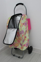 Child Toys supermarket trolley bag cart wheels and axles vegetable shopping trolley bag