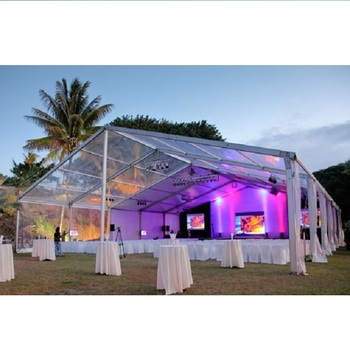 Outdoor Fashion Party Event WeddingTransparent Roof Tent
