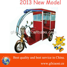 hybrid battery powered tricycle