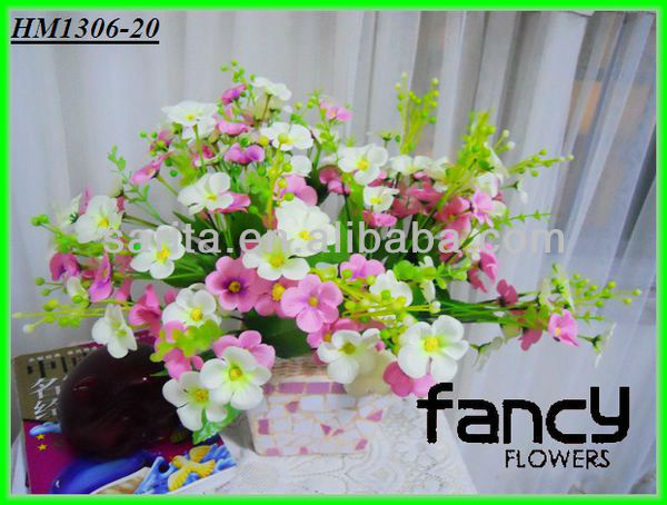 cheap wholesale colorful singapore bulk artificial silk daisy flowers making for wedding&home decoration