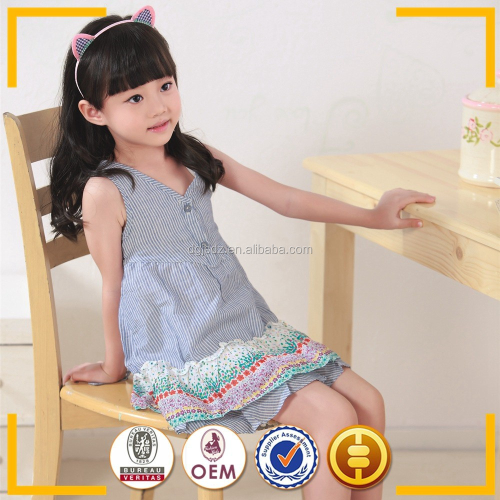 fashion kids party wear girl dress / plus size wholesale children clothing / children clothes suppliers