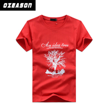 Cheap Gym T Shirts For Men Fashion Muscle Fit Team T Shirt Red Design