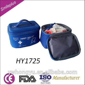 HY1725 Non-Woven Wound Pad Pet First Aid Kit
