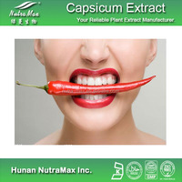 100% Organic Red Pepper Extract/ Capsaicin Extract with Synthetic Capsaicin