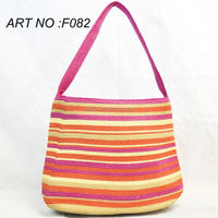 2014 Fashion wholesale straw beach bags