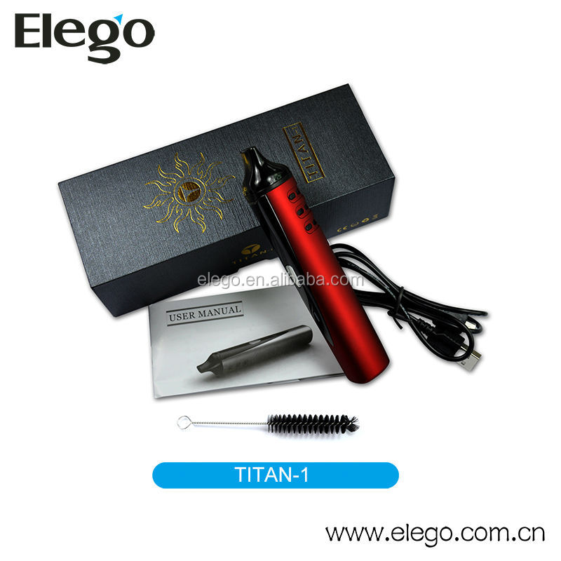 Newest!!! 2014 Best Selling Dry Herb E Cigarette Titan Vaporizer of Version 2