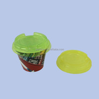 In Mold Labeling Plastic Pudding Cup